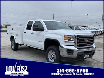 2019 Summit White GMC Sierra 2500HD Base Automatic Gas/Ethanol V8 6.0L/366 Engine 4 Door 4X4 Truck