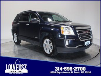 2017 Dark Sapphire Blue Metallic GMC Terrain SLT 4 Door Gas/Ethanol I4 2.4L/145 Engine AWD SUV