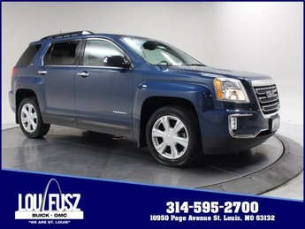 2017 Slate Blue Metallic GMC Terrain SLT Gas/Ethanol I4 2.4L/145 Engine AWD 4 Door SUV