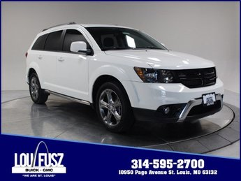 2017 Vice White Dodge Journey Crossroad Plus Automatic Regular Unleaded V-6 3.6 L/220 Engine FWD