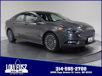 2017 Ford Fusion SE Intercooled Turbo Regular Unleaded I-4 2.0 L/122 Engine 4 Door Sedan AWD