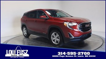 2020 Red Quartz Tintcoat GMC Terrain SLE FWD 4 Door Automatic