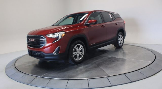 2020 Red Quartz Tintcoat GMC Terrain SLE Turbocharged Gas/E15 I4 1.5L/92 Engine 4 Door SUV FWD Automatic