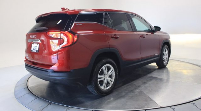2020 Red Quartz Tintcoat GMC Terrain SLE Automatic FWD Turbocharged Gas/E15 I4 1.5L/92 Engine SUV 4 Door