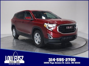 2020 Red Quartz Tintcoat GMC Terrain SLE SUV Turbocharged Gas/E15 I4 1.5L/92 Engine Automatic FWD
