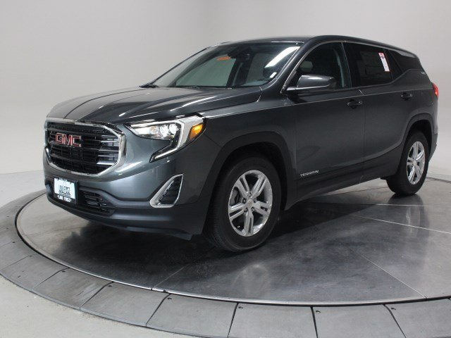 2020 Graphite Gray Metallic GMC Terrain SLE SUV FWD Turbocharged Gas/E15 I4 1.5L/92 Engine