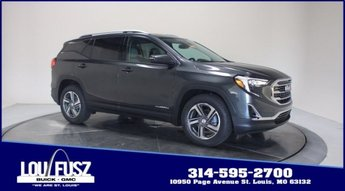 2020 Graphite Gray Metallic GMC Terrain SLT Turbocharged Gas/E15 I4 1.5L/92 Engine Automatic 4 Door