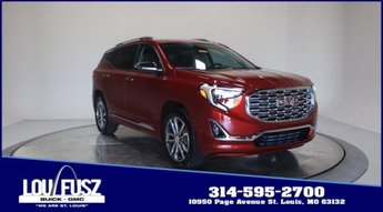 2020 Red Quartz Tintcoat GMC Terrain Denali SUV Turbocharged Gas/E15 I4 2.0L/122 Engine AWD