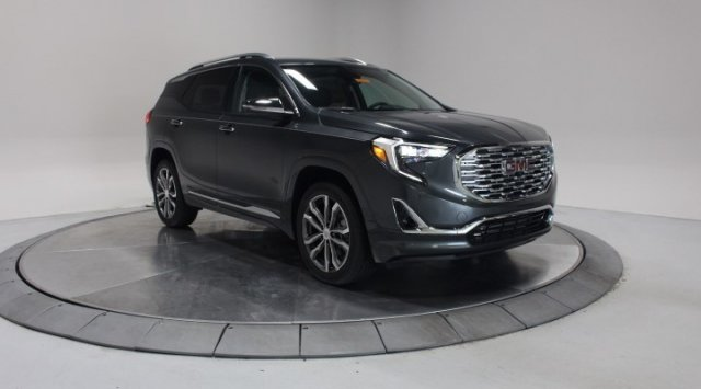 2020 Graphite Gray Metallic GMC Terrain Denali Turbocharged Gas/E15 I4 2.0L/122 Engine 4 Door Automatic SUV AWD