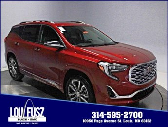 2019 Red Quartz Tintcoat GMC Terrain Denali Turbocharged Gas/E15 I4 2.0L/122 Engine SUV Automatic 4 Door
