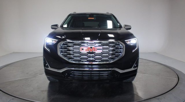 2020 Ebony Twilight Metallic GMC Terrain Denali Turbocharged Gas/E15 I4 2.0L/122 Engine Automatic 4 Door SUV AWD