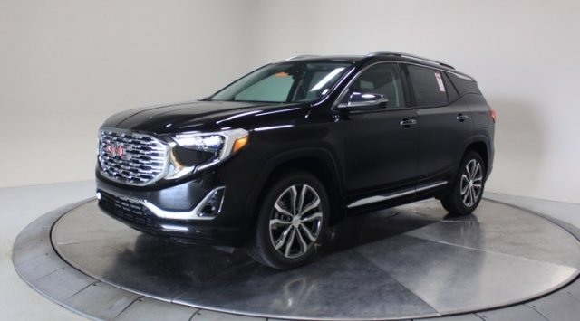 2020 Ebony Twilight Metallic GMC Terrain Denali SUV AWD Turbocharged Gas/E15 I4 2.0L/122 Engine