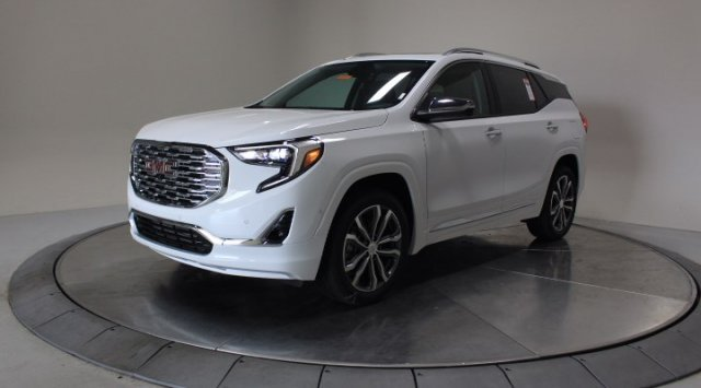 2020 Summit White GMC Terrain Denali Automatic Turbocharged Gas/E15 I4 2.0L/122 Engine SUV AWD 4 Door