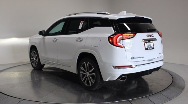 2020 Summit White GMC Terrain Denali AWD SUV Turbocharged Gas/E15 I4 2.0L/122 Engine