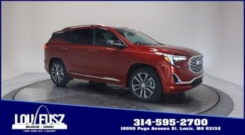 2020 Red Quartz Tintcoat GMC Terrain Denali Turbocharged Gas/E15 I4 2.0L/122 Engine Automatic SUV 4 Door AWD