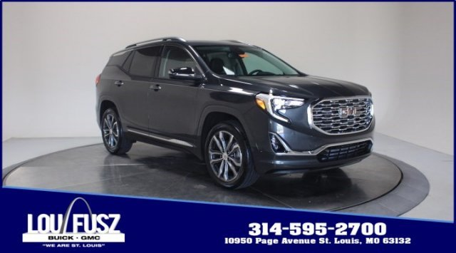 2020 Graphite Gray Metallic GMC Terrain Denali AWD Automatic Turbocharged Gas/E15 I4 2.0L/122 Engine 4 Door