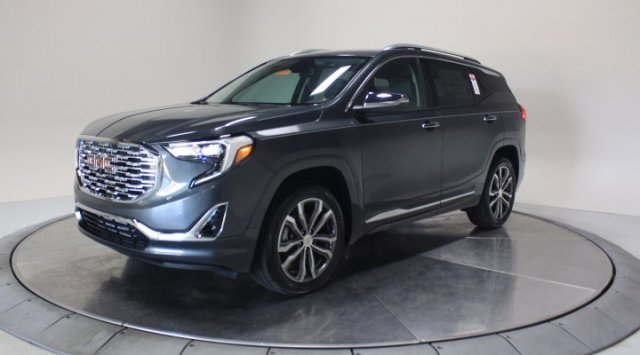 2020 Graphite Gray Metallic GMC Terrain Denali AWD SUV Turbocharged Gas/E15 I4 2.0L/122 Engine