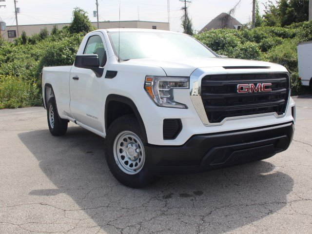2019 Summit White GMC Sierra 1500 Base Gas V6 4.3L Engine RWD Automatic