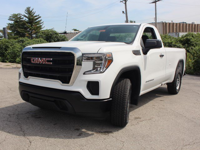 2019 Summit White GMC Sierra 1500 Base RWD Automatic Gas V6 4.3L Engine