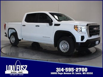 2019 Summit White GMC Sierra 1500 Base 4X4 4 Door Automatic Truck Gas V8 5.3L Engine