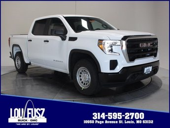2019 Summit White GMC Sierra 1500 Base Truck Automatic Gas V8 5.3L Engine 4X4