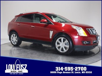 2016 Crystal Red Tintcoat Cadillac SRX Premium Collection FWD SUV 4 Door Gas V6 3.6L/217 Engine