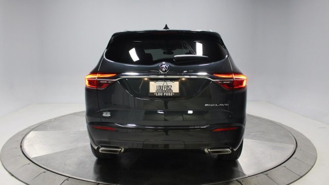 2019 Dark Slate Metallic Buick Enclave Essence FWD Gas V6 3.6L/217 Engine Automatic 4 Door SUV
