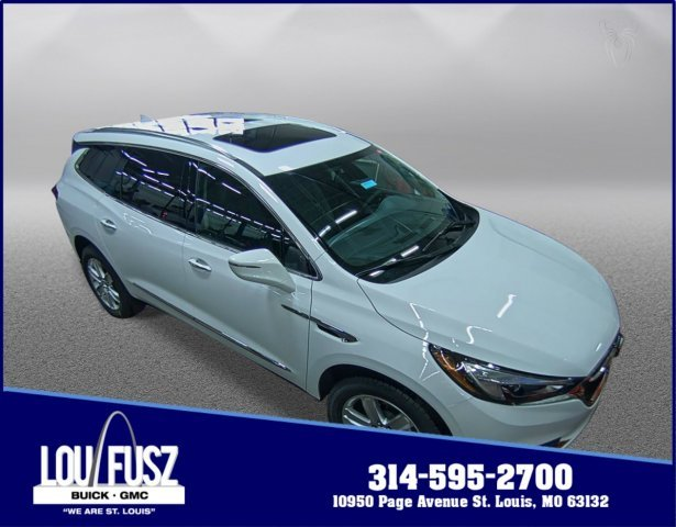 2019 Summit White Buick Enclave Essence Gas V6 3.6L/217 Engine Automatic 4 Door FWD