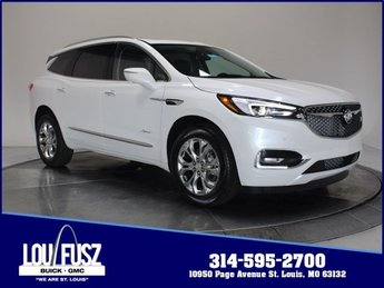 2020 White Frost Tricoat Buick Enclave Avenir AWD 4 Door Gas V6 3.6L/ Engine Automatic