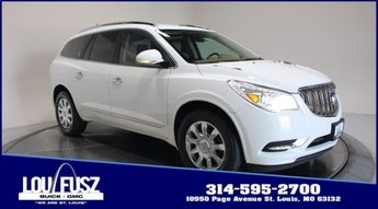 2017 Summit White Buick Enclave Premium Gas V6 3.6L/217 Engine SUV AWD Automatic