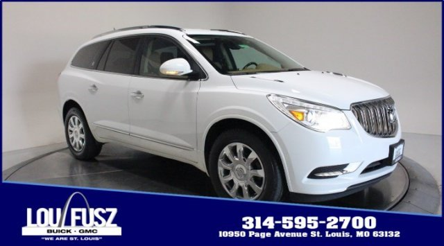 2017 Summit White Buick Enclave Premium Gas V6 3.6L/217 Engine SUV 4 Door Automatic