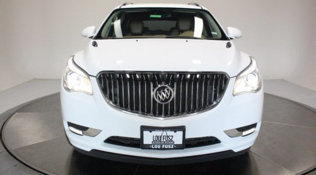 2017 Summit White Buick Enclave Premium AWD Gas V6 3.6L/217 Engine 4 Door SUV