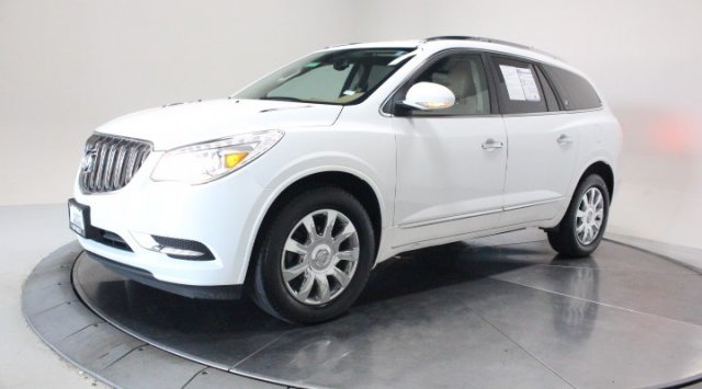 2017 Summit White Buick Enclave Premium Automatic 4 Door SUV AWD Gas V6 3.6L/217 Engine
