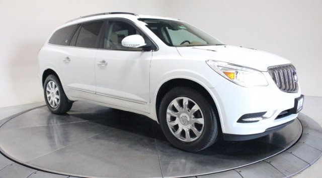 2017 Summit White Buick Enclave Premium AWD Gas V6 3.6L/217 Engine SUV 4 Door