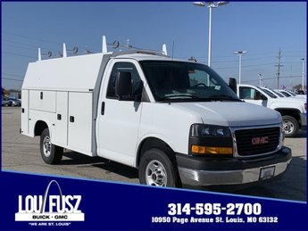 2019 Summit White GMC Savana Commercial Cutaway Work Van Automatic RWD Car 2 Door Gas V8 6.0L/364 Engine