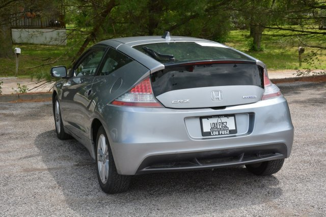 2011 Storm Silver Metallic Honda CR-Z EX Gas/Electric I4 1.5L/91 Engine Hatchback Automatic FWD 2 Door
