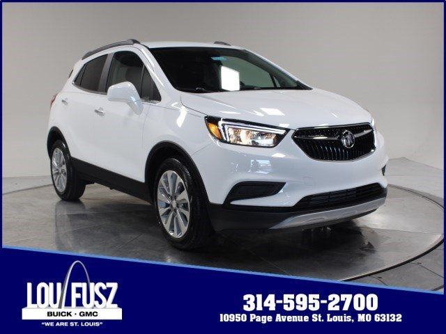 2020 Summit White Buick Encore Preferred FWD SUV Automatic Turbocharged I4 1.4/83 Engine 4 Door