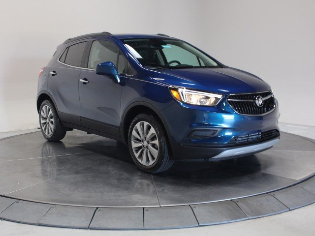 2020 Deep Azure Metallic Buick Encore Preferred Turbocharged I4 1.4/83 Engine SUV Automatic