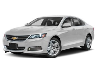 2019 Summit White Chevrolet Impala LT Automatic 4 Door FWD