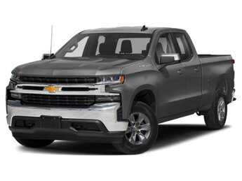 2020 Satin Steel Metallic Chevrolet Silverado 1500 LT 4X4 EcoTec3 5.3L V8 Engine Truck 4 Door