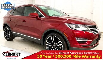 2017 Ruby Red Metallic Tinted Clearcoat Lincoln MKC Black Label AWD 2.3L GTDI Engine Automatic