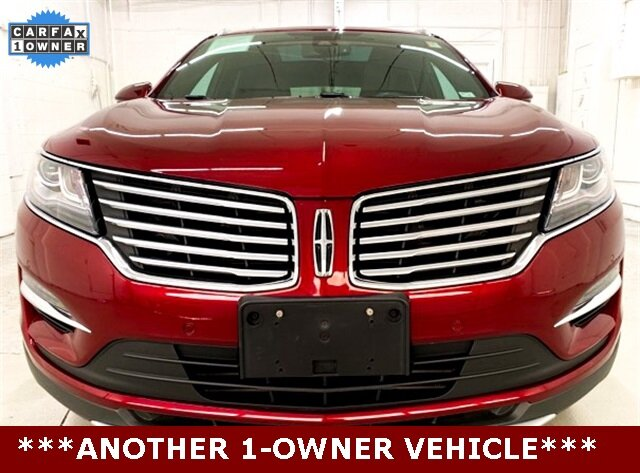 2017 Ruby Red Metallic Tinted Clearcoat Lincoln MKC Black Label 4 Door Automatic SUV 2.3L GTDI Engine