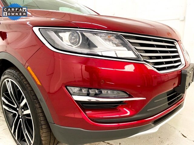 2017 Ruby Red Metallic Tinted Clearcoat Lincoln MKC Black Label 2.3L GTDI Engine Automatic AWD